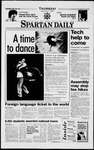 Spartan Daily, March 6, 1997 by San Jose State University, School of Journalism and Mass Communications