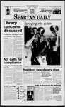 Spartan Daily, April 3, 1997 by San Jose State University, School of Journalism and Mass Communications