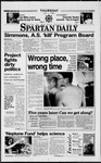 Spartan Daily, May 1, 1997 by San Jose State University, School of Journalism and Mass Communications