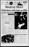 Spartan Daily, October 13, 1997 by San Jose State University, School of Journalism and Mass Communications