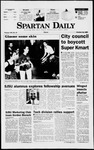 Spartan Daily, October 24, 1997 by San Jose State University, School of Journalism and Mass Communications