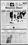 Spartan Daily, October 31, 1997 by San Jose State University, School of Journalism and Mass Communications