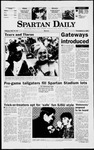 Spartan Daily, November 3, 1997 by San Jose State University, School of Journalism and Mass Communications