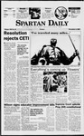 Spartan Daily, November 4, 1997 by San Jose State University, School of Journalism and Mass Communications