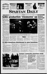 Spartan Daily, November 18, 1997 by San Jose State University, School of Journalism and Mass Communications