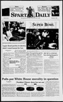 Spartan Daily, January 27, 1998 by San Jose State University, School of Journalism and Mass Communications