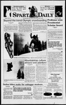 Spartan Daily, February 5, 1998 by San Jose State University, School of Journalism and Mass Communications