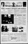 Spartan Daily, February 10, 1998 by San Jose State University, School of Journalism and Mass Communications
