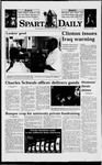 Spartan Daily, February 18, 1998 by San Jose State University, School of Journalism and Mass Communications