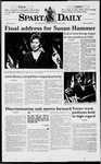 Spartan Daily, February 20, 1998 by San Jose State University, School of Journalism and Mass Communications