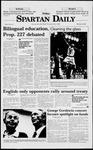 Spartan Daily, February 27, 1998