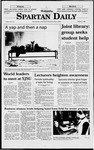 Spartan Daily, March 11, 1998 by San Jose State University, School of Journalism and Mass Communications