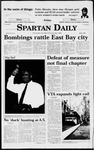 Spartan Daily, April 3, 1998 by San Jose State University, School of Journalism and Mass Communications