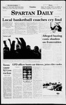 Spartan Daily, April 14, 1998 by San Jose State University, School of Journalism and Mass Communications