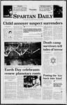 Spartan Daily, April 23, 1998 by San Jose State University, School of Journalism and Mass Communications