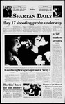 Spartan Daily, April 24, 1998 by San Jose State University, School of Journalism and Mass Communications
