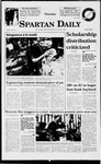 Spartan Daily, April 30, 1998 by San Jose State University, School of Journalism and Mass Communications