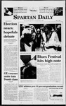 Spartan Daily, May 11, 1998 by San Jose State University, School of Journalism and Mass Communications