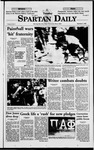 Spartan Daily, September 1, 1998 by San Jose State University, School of Journalism and Mass Communications