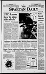 Spartan Daily, September 11, 1998 by San Jose State University, School of Journalism and Mass Communications