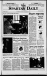 Spartan Daily, September 15, 1998 by San Jose State University, School of Journalism and Mass Communications