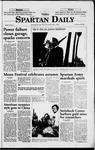Spartan Daily, September 25, 1998 by San Jose State University, School of Journalism and Mass Communications