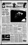 Spartan Daily, September 30, 1998 by San Jose State University, School of Journalism and Mass Communications