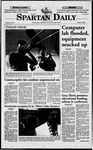 Spartan Daily, October 1, 1998 by San Jose State University, School of Journalism and Mass Communications