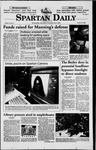 Spartan Daily, October 15, 1998 by San Jose State University, School of Journalism and Mass Communications