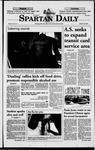 Spartan Daily, October 21, 1998 by San Jose State University, School of Journalism and Mass Communications