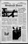Spartan Daily, October 27, 1998 by San Jose State University, School of Journalism and Mass Communications