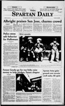 Spartan Daily, October 30, 1998 by San Jose State University, School of Journalism and Mass Communications