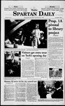 Spartan Daily, November 2, 1998 by San Jose State University, School of Journalism and Mass Communications