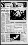Spartan Daily, November 3, 1998 by San Jose State University, School of Journalism and Mass Communications