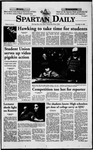 Spartan Daily, November 13, 1998 by San Jose State University, School of Journalism and Mass Communications