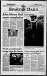 Spartan Daily, November 24, 1998 by San Jose State University, School of Journalism and Mass Communications