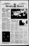 Spartan Daily, December 4, 1998 by San Jose State University, School of Journalism and Mass Communications