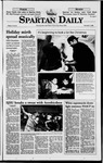 Spartan Daily, December 7, 1998 by San Jose State University, School of Journalism and Mass Communications