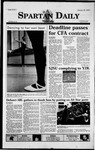 Spartan Daily, January 26, 1999 by San Jose State University, School of Journalism and Mass Communications