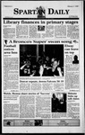 Spartan Daily, February 1, 1999 by San Jose State University, School of Journalism and Mass Communications