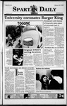 Spartan Daily, February 18, 1999 by San Jose State University, School of Journalism and Mass Communications