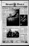 Spartan Daily, March 2, 1999 by San Jose State University, School of Journalism and Mass Communications