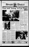 Spartan Daily, March 3, 1999 by San Jose State University, School of Journalism and Mass Communications