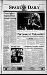 Spartan Daily, March 4, 1999 by San Jose State University, School of Journalism and Mass Communications