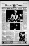 Spartan Daily, March 15, 1999 by San Jose State University, School of Journalism and Mass Communications