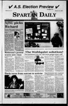 Spartan Daily, March 16, 1999 by San Jose State University, School of Journalism and Mass Communications