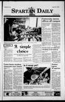 Spartan Daily, April 20, 1999