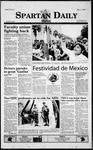 Spartan Daily, May 3, 1999 by San Jose State University, School of Journalism and Mass Communications