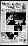 Spartan Daily, August 25, 1999 by San Jose State University, School of Journalism and Mass Communications