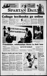 Spartan Daily, September 2, 1999 by San Jose State University, School of Journalism and Mass Communications